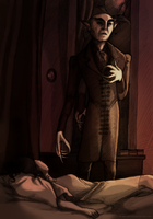 Nosferatu - He'd Stayed Too Long in Her Room by Mrs-Crocker