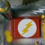The Flash Stencil by Affion
