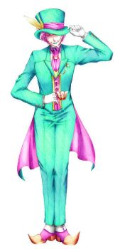 AHT: Hatter by Fortranica