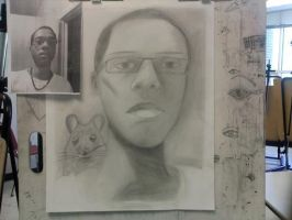 """Drawing II- Portrait """"Done"""" by SeeMooreDesigns"""