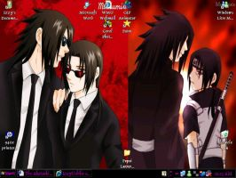 My New Desktop by IzzyUchiha