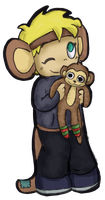 :gift: Monkey Megan by LeniProduction