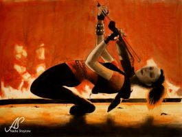 Lindsey Stirling - Fire by Nadschi