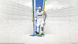 Zinedine Zidane 5 Real Madrid Legend By Namo,7 by 445578gfx