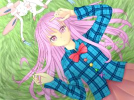 Hata no Kokoro - Lost peaceful days by SkyPyoro