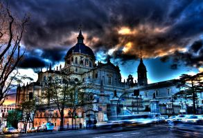 Madrid Cathedral by jmotes