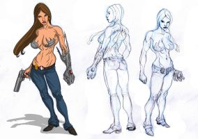 Witchblade By Selkirk by wender