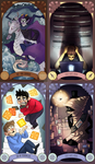 Homestuck Tarot Cards by SIIINS