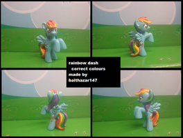 color corrected Rainbow Dash by balthazar147