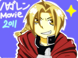 Movie 2011 : Edward Elric by NiaAmakura
