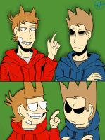 Eddsworld - Tord And Tom Redraw by TimelessUniverse