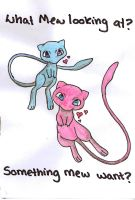 something Mew want by iWildBlood