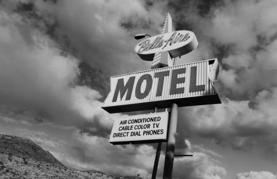 Belle Aire Motel By Magaliciousart - Edited by TheBluePenguin8