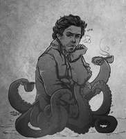 tentacle holmes by thenizu