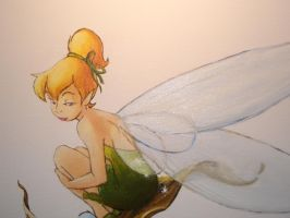 Close up of Tinkerbell by LilyDraconis
