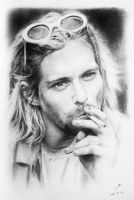 KURT COBAIN (FUCKING LEGEND ON THE CIGARETTE) by weishern