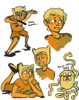 Finn the hUMAN I CANT THINK OF TITLES AUGH by Capu-Llama-Spark