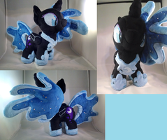 Filly Nightmare Moon by Bakufoon