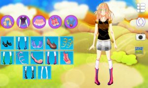 Jennifer Dress Up Android Template by GintasDX