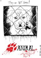 STOP animal cruelty by Koukyo