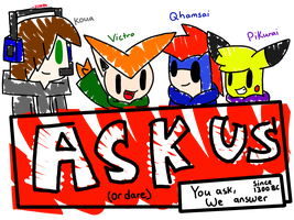 Ask or Dare us! (OPEN) by SapphireCharm0089