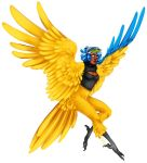 Blue-and-Yellow Makaw Harpy by KelbremDusk