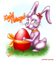 easter bunny by antonist