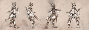 Rat dance costume 2 by KP-ShadowSquirrel