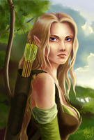 the elven ranger -updated- by Ithilloth