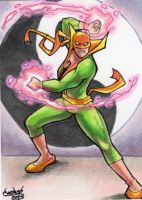 Commission: Iron Fist by skardash