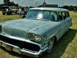 1958 Wagon by ArielOlivia