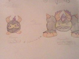 Gift for Hotcouture9: Morgos and Morgorite by Paganzo