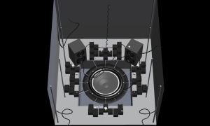 MMD speaker and cubes stage HQ by Ina-C