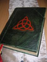Triquetra Book of shadows by Shadows-Ink