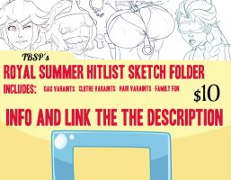 TBSP'S ROYAL SUMMER HITLIST by TheBitterSweetPrince