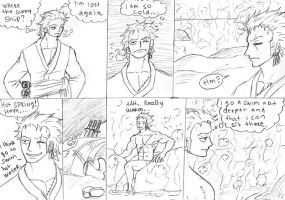 the hot spring in zoro part 1 by heivais