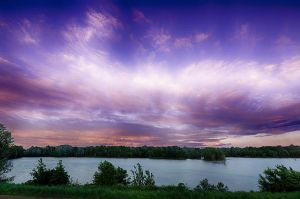 Evening sky by Norge-Raylandy11