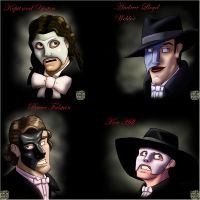 The Four Stage Phantoms by SilverDrgnbane