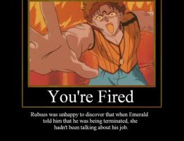 You're Fired by Kalliana