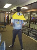 ( Gravity Falls ) Bill Cipher Cosplay at Hurricon by KrazyKari