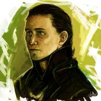 Loki by Anaeolist