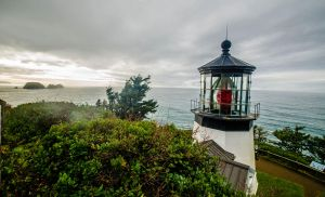 Cape Meares Lighthouse by Carise