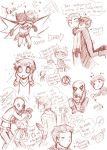 Under The Red Hood: Doodles by BrokenDeathAngel