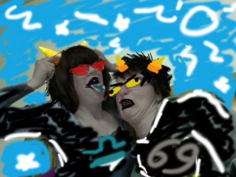 KARKAT X TEREZI COSPLAY by Joey-of-Suburbia