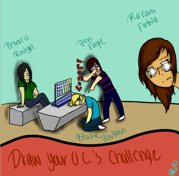 Draw Your O.C's Challenge by Wolffinatic