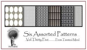 Twisted Mind Assorted Pattern Set 35 by Textures-and-More