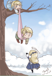 Hang in there, Russia by Jacyll
