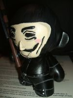 V for Vendetta Munny by jrobbo