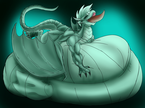 Just like an oversized and fat noodle! by Thorvrog