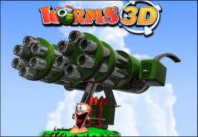 worms 3d by Relderson